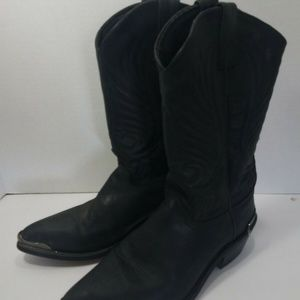 1992 Leather Cowboy Western Boots Style 3026 Sz 9D